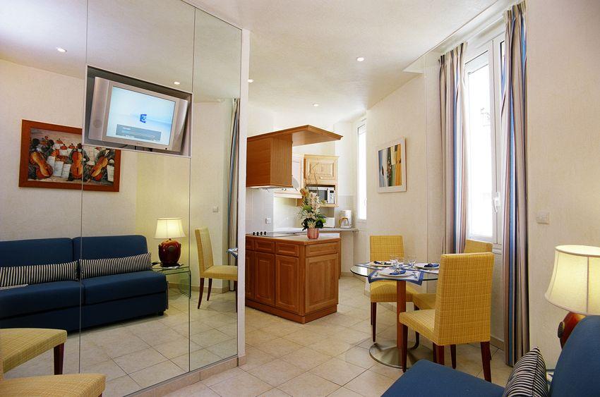 Cannes location appartement 2 pi ces avec climatisation et for Location meuble cannes