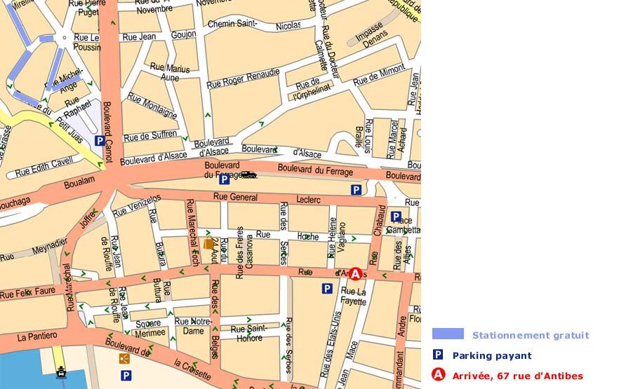 Cannes location meuble appartement trois pi ces internet wi fi for Location meuble cannes